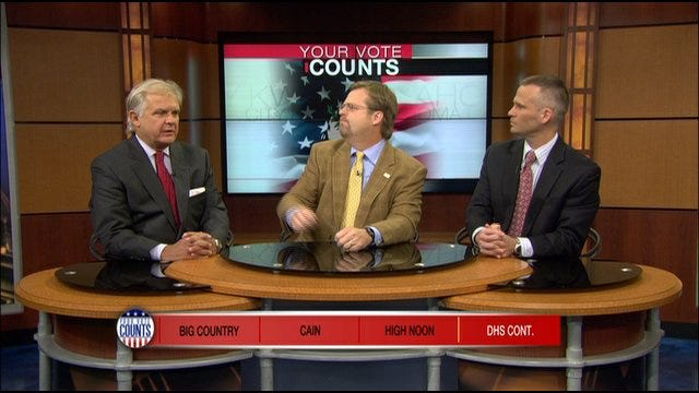 Your Vote Counts: Big Country, Cain, High Noon, DHS