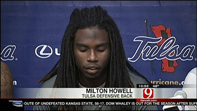 Tulsa Defense Gets Help From DB Milton Howell