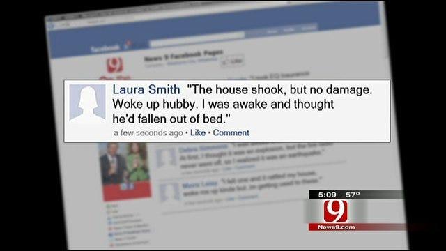 Viewers Respond To Metro Area Quakes
