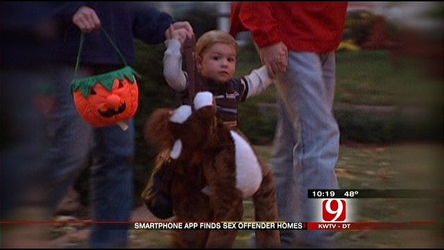 Cell Phone App Helps Make Halloween Safer