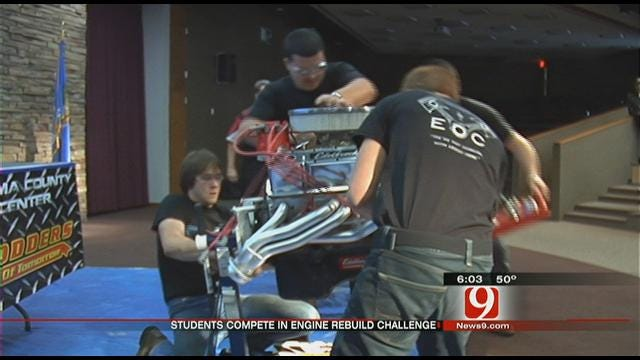 Future Hot Rodders Prepare For Competition