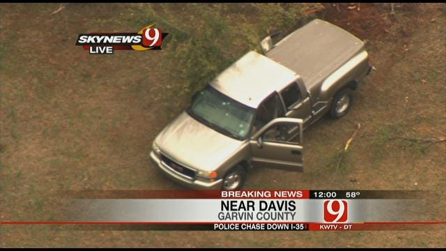 Escapee Caught After Wrong-Way Chase On I-35