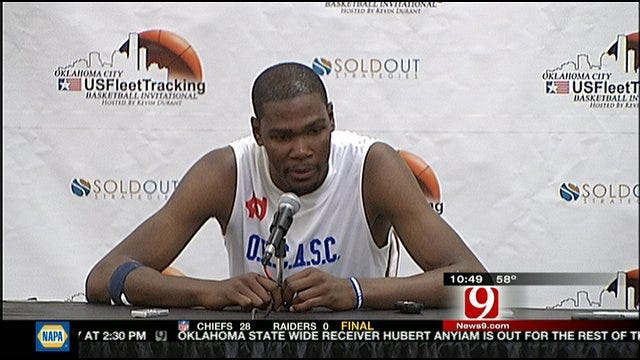 More Interviews From Kevin Durant's Charity Game