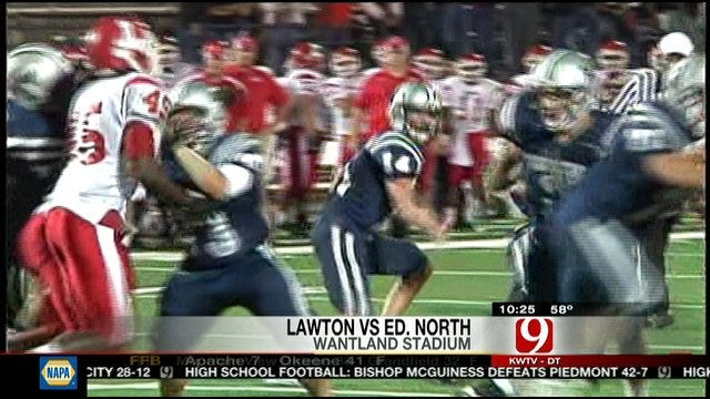 Blocked Field Goal Gives Lawton Win Over Edmond North