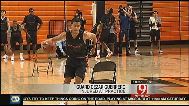 OSU Freshman Cezar Guerrero Injured During Drill