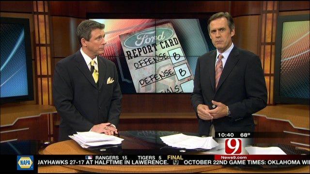 Oklahoma State Report Card: Texas Longhorns