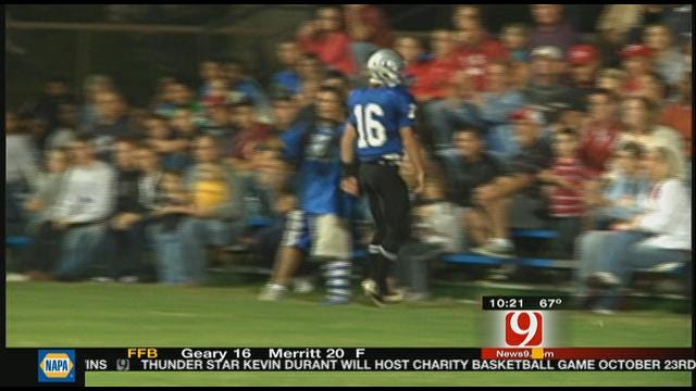 Guthrie Slips Past Carl Albert At Home