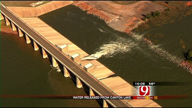 OKC Lake Replenishment Water On Its Way