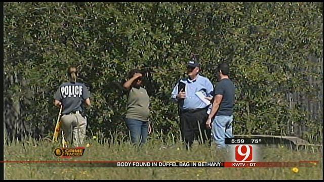 Police Investigate Duffle Bag