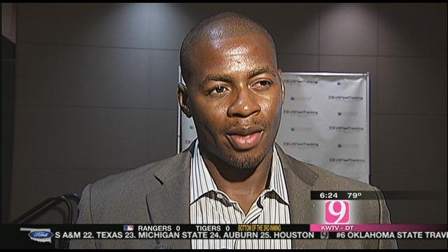 Desmond Mason On OKC Exhibition Game