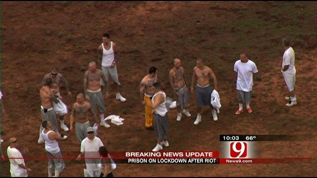 Prison Riot In Sayre Contained