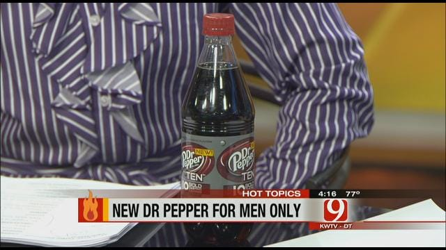Hot Topics: Dr. Pepper Targets Men