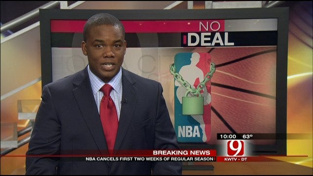 NBA Cancels First Two Weeks Of Regular Season