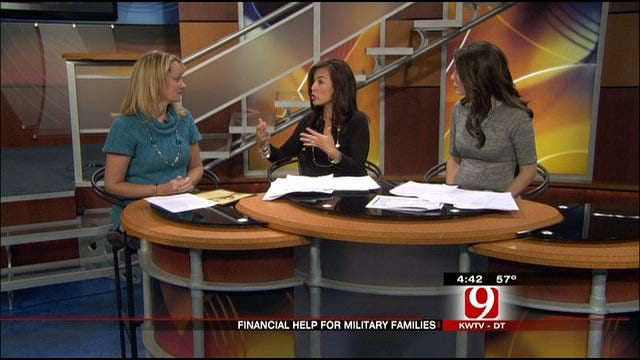 News 9 Financial Expert Discusses Military Families' Financial Problems