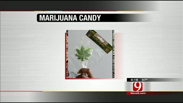 Hot Topics: Marijuana-Shaped Candies