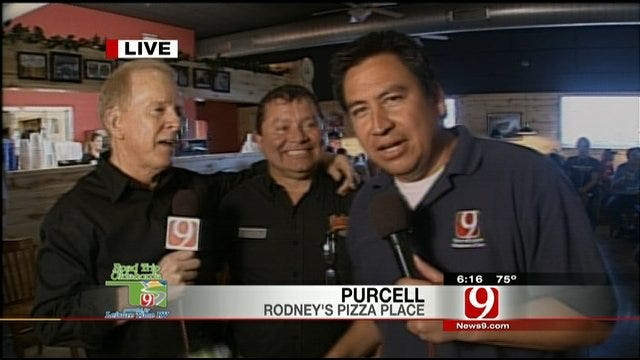 Darren, Gary Talk To Owner Of Rodney's Pizza Place