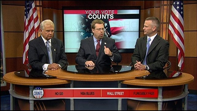 Your Vote Counts: Governor Christie and Palin, NBA Blues, Wall Street