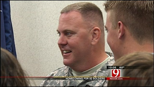 Oklahoma National Guardsmen Return Home From Yearlong Deployment