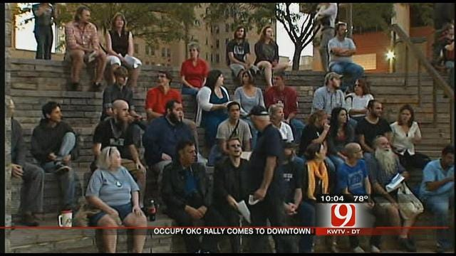 'Occupy Wall Street' Comes To Oklahoma