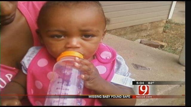 Missing Baby Found Safe