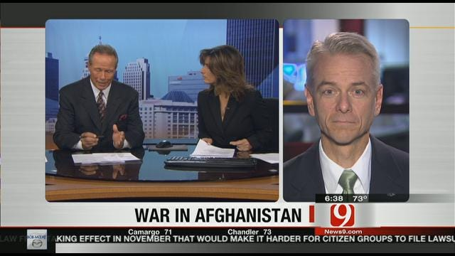 Senator Steve Russell Discusses Anniversary Of War In Afghanistan