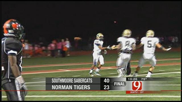 Southmoore Surprises Norman In Blowout