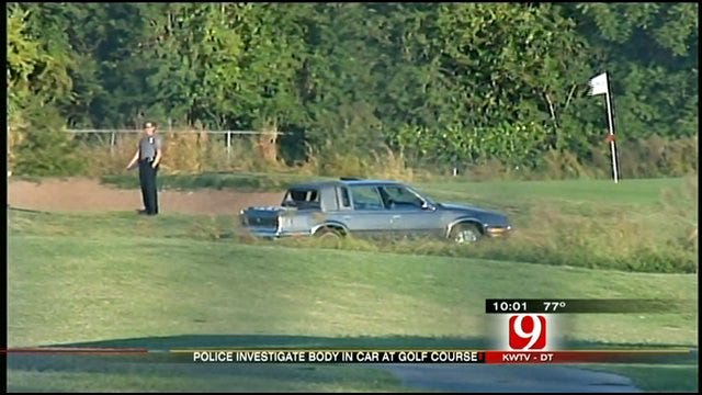 Body Found In Car On Golf Course