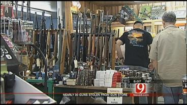Bethany Gun Shop Thieves Make Off With Nearly 30 Rifles