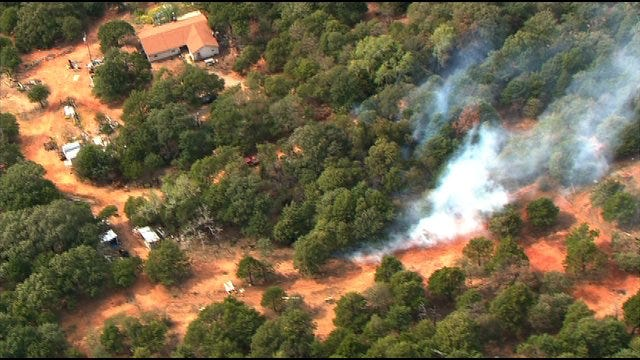 Wildfire In Lincoln County Is Out