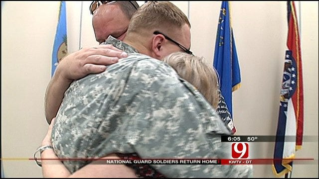 Oklahoma Soldiers Return From Sinai Deployment