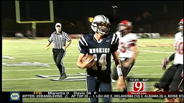 Edmond North Takes Down Mustang