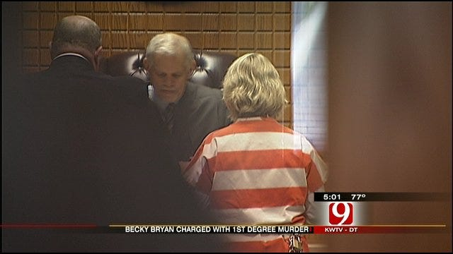 Wife Of Slain Nichols Hills Fire Chief Arraigned On Murder Charge