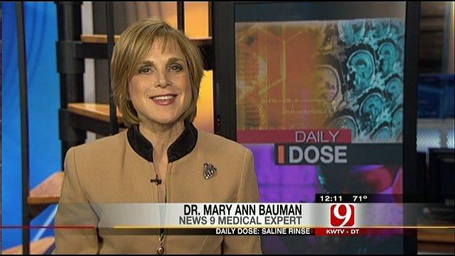 Dr Bauman's Saline Snort Recipe