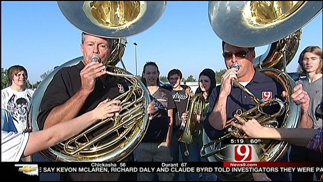 Stan, Jed Compete In Purcell High School 'Band Off'
