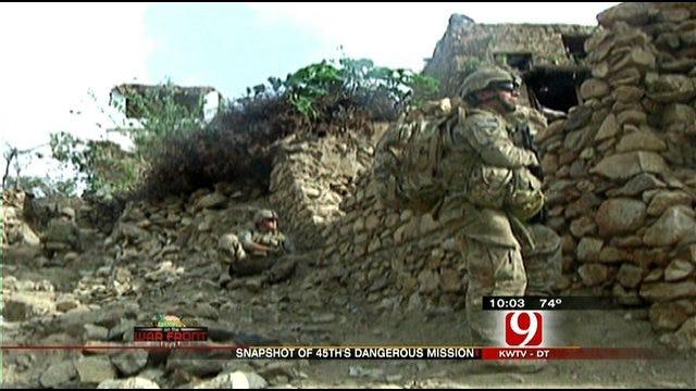 Oklahoman Guardsman Give Glimpse Of Dangerous Mission