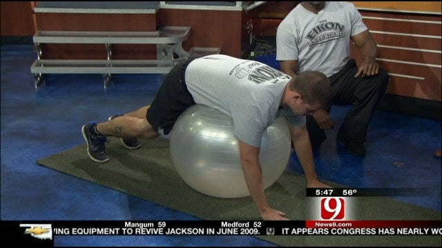 No Excuses: Stability Ball Walk