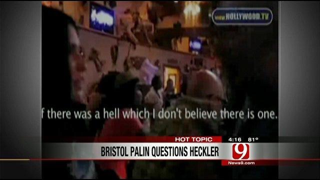 Hot Topics: Bristol Palin Verbally Attacked By Heckler