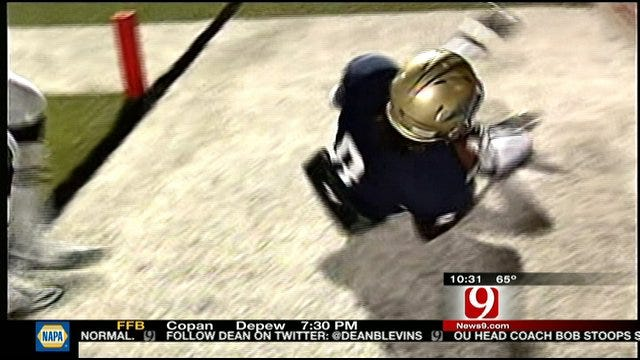 Play Of The Week: Issac Whitney Touchdown Catch