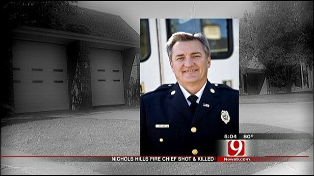 Firefighters Grieve Chief's Death