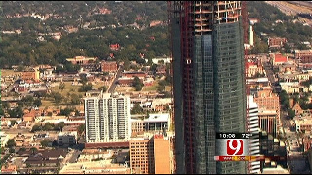 Devon Tower Marks Major Milestone For Downtown OKC Skyline