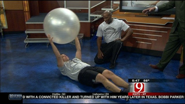 No Excuses Workout: Stability Ball Exercises