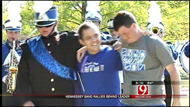Hennessey Band Rallies Behind Assistant Band Director Battling Disease
