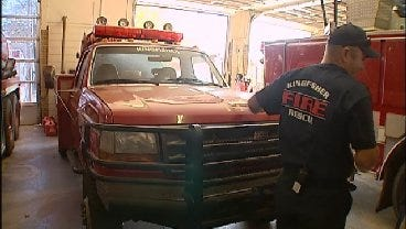Oklahoma Companies Donate Money To Help Small Town Fire Departments