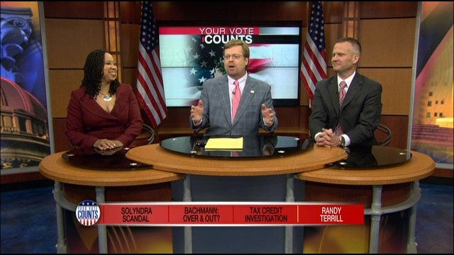 Your Vote Counts: Solyndra Scandal, Tax Credit Investigation, And Randy Terrill