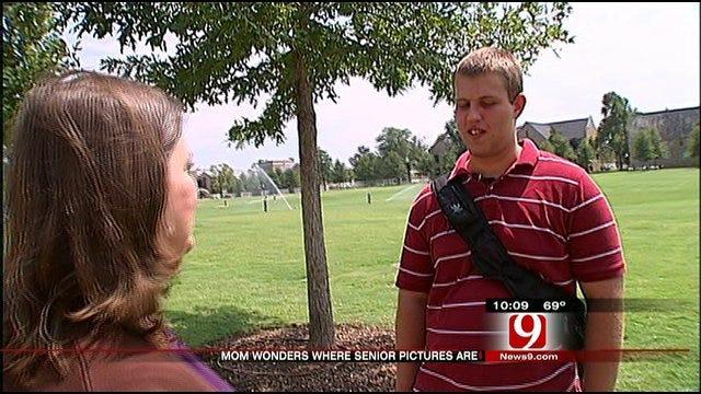 Photographer Returns Senior Pictures