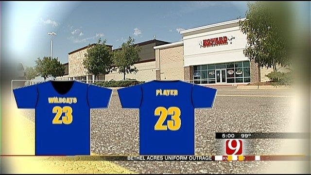 OKC Company Says Deal's Off To Little League Football Team Uniforms