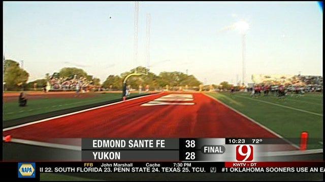 Edmond Santa Fe Holds Off Yukon