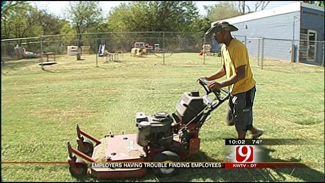 Oklahoma Employers Can't Find Workers For Minimum Wage