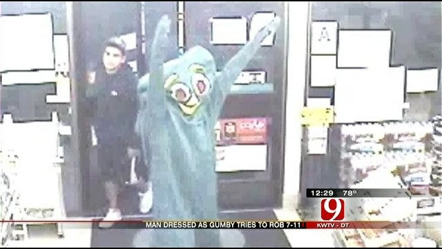 'Gumby' Robber Targets 7-Eleven In California