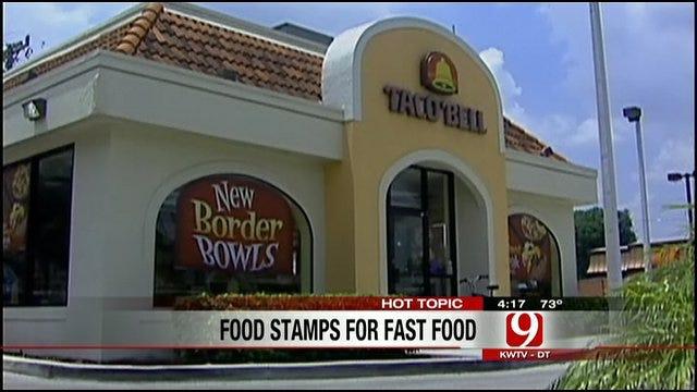 Hot Topics: Food Stamps At Fast Food Restaurants